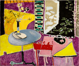 Patrick Heron: Interior with Garden Window