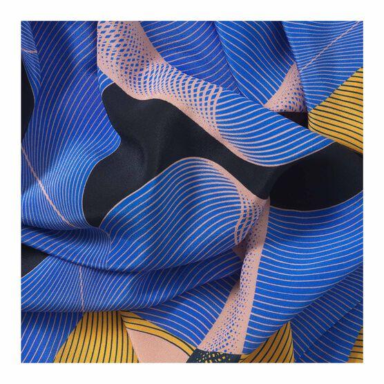 1973 print silk scarf detail