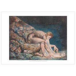 William Blake Newton exhibition poster