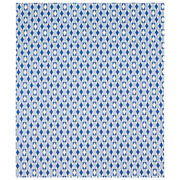 Blue diamond print wrapping paper