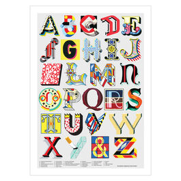 Alphabet of Art poster