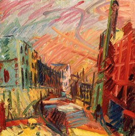 Auerbach: Mornington Crescent - Early Morning