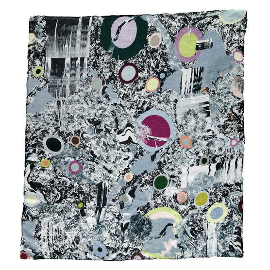 Fiona Rae Untitled (emergency room) scarf