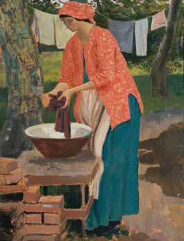 Augustus John: Washing Day
