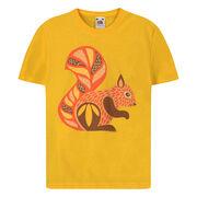 Red squirrel children's t-shirt