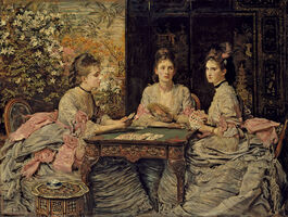 John Everett Millais: Hearts are Trumps
