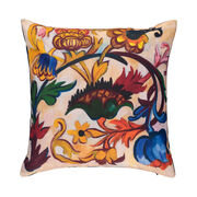 Natalia Goncharova The Ornament. Flowers (Mother of God triptych) cushion cover