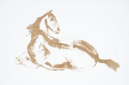 Elisabeth Frink: Lying Down Horse