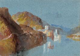 Turner: The Leyen Burg at Gondorf
