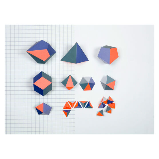 Polyhedrons shapes kit 2