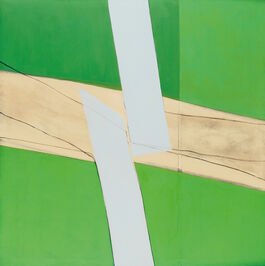 Sandra Blow: Green and White