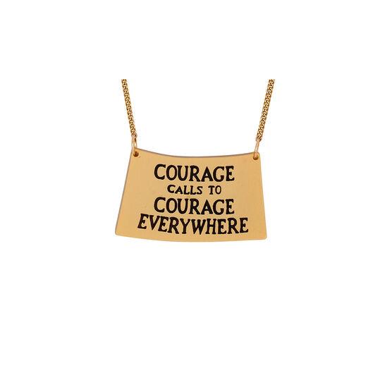 Courage Calls necklace