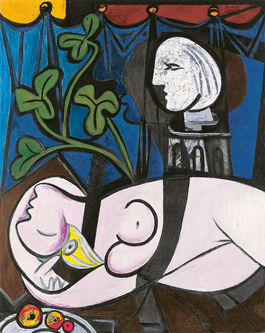 Pablo Picasso: Nude, Green Leaves and Bust