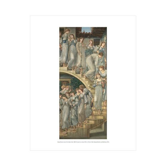 Edward Burne-Jones: The Golden Stairs mini print