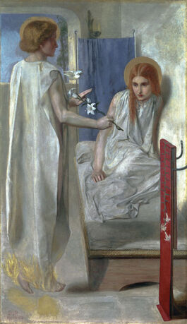 Rossetti: Ecce Ancilla Domini! ('The Annunciation')