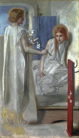 Rossetti: Ecce Ancilla Domini! ('The Annunciation')