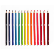 Box of 16 pop coloured pencils