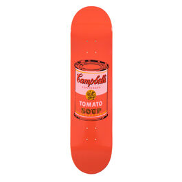 Warhol: Campbell's Soup Can skateboard - peach