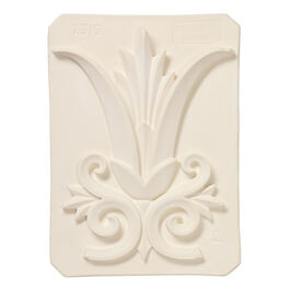Decorative palm plaster cast plaque
