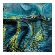 Van Gogh Starry Night over the Rhône silk scarf
