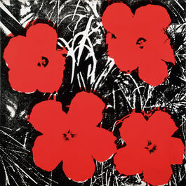 Andy Warhol: Flowers (4 red)