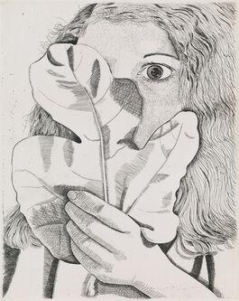 Lucian Freud: Girl with a Fig Leaf
