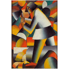 Malevich: The Woodcutter