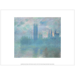 Monet: Houses of Parliament c.1900-1 (exhibition print)