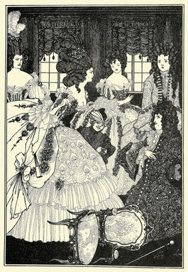 Aubrey Beardsley: The Battle of the Beaux and the Belles