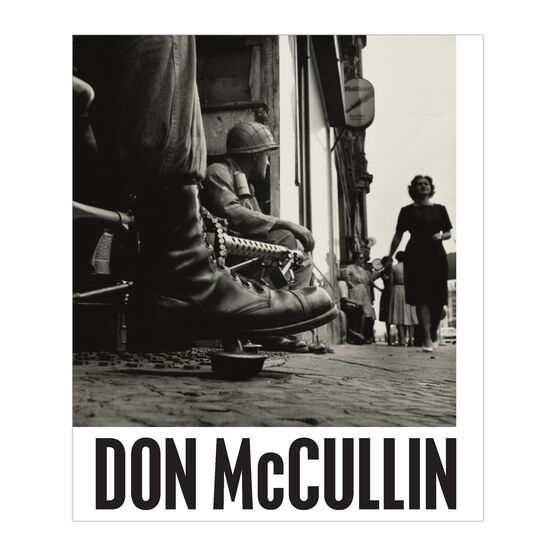 Don McCullin exhibition book (paperback)