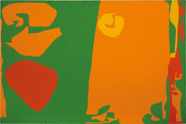 Patrick Heron: Complex Greens, Reds and Orange
