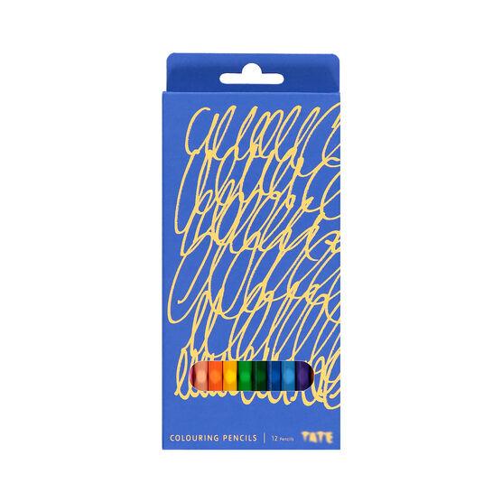Tate art materials colouring pencils