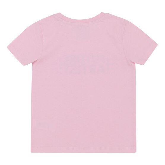 Pink kids' t-shirt - back