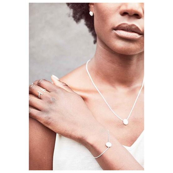 Jaya silver necklace