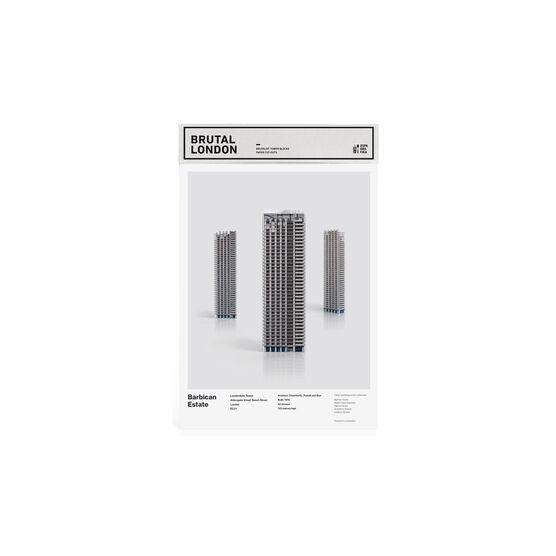 Barbican Tower paper model kit