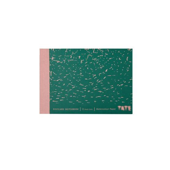 Tate postcard sketchbook