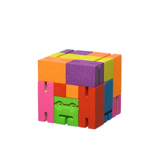 Multi-coloured cubebot