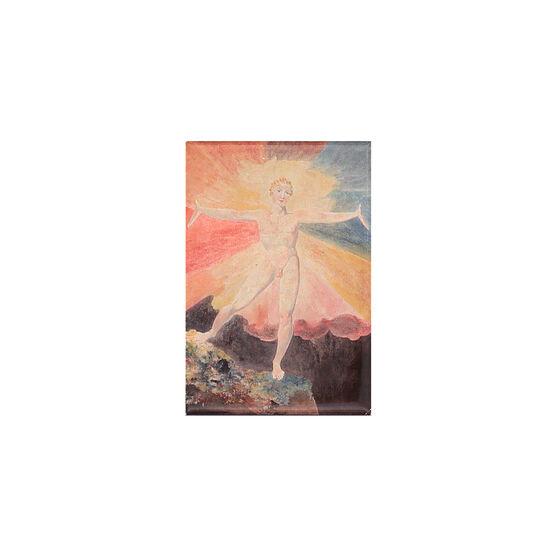 William Blake Albion Rose magnet