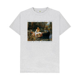 J. W. Waterhouse: The Lady of Shalott recycled t-shirt