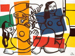 Fernand Léger: Two Women Holding Flowers