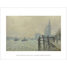 Monet: The Thames Below Westminster (mini print)