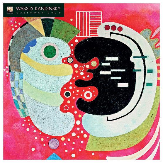 Wassily Kandinsky 2022 wall calendar