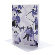 Catarina Merais A Walk in December Christmas cards (pack of 6)