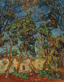 Vincent van Gogh: Hospital at Saint-Rémy
