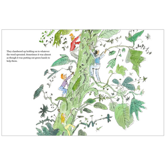 The Weed by Quentin Blake - spread