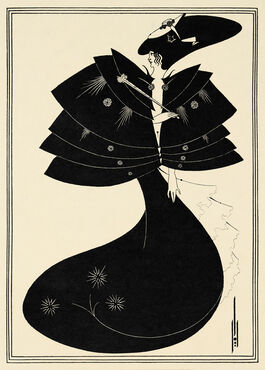 Aubrey Beardsley: The Black Cape