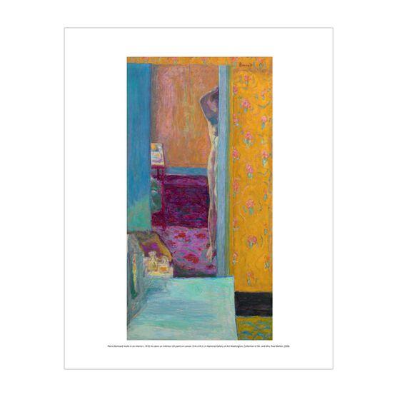 Pierre Bonnard: Nude in an Interior mini print