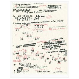 Joan Jonas, Score, Document of 2012 reconstruction of Mirror Piece I (1969), 2018