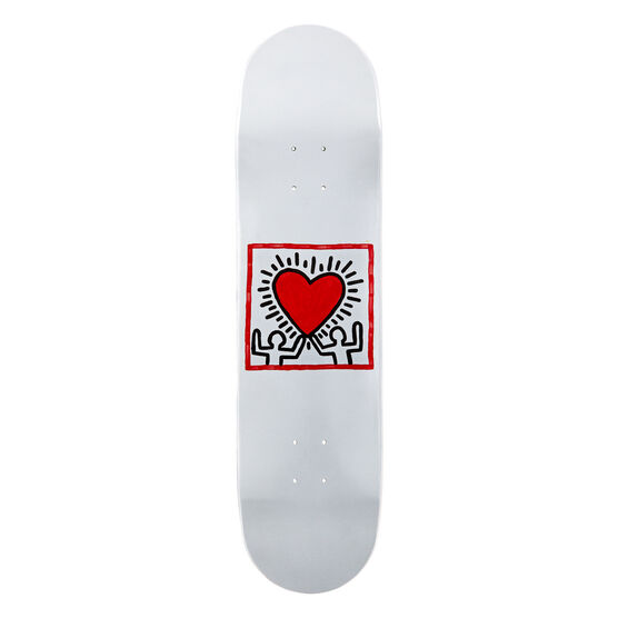 Keith Haring: Untitled Heart skateboard