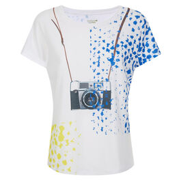 Ella Doran Pop Camera women's t shirt